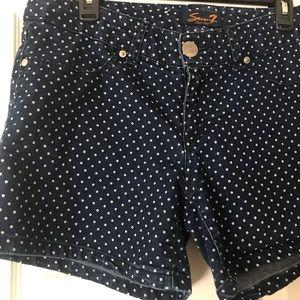 Polka Dot Seven7 Shorts